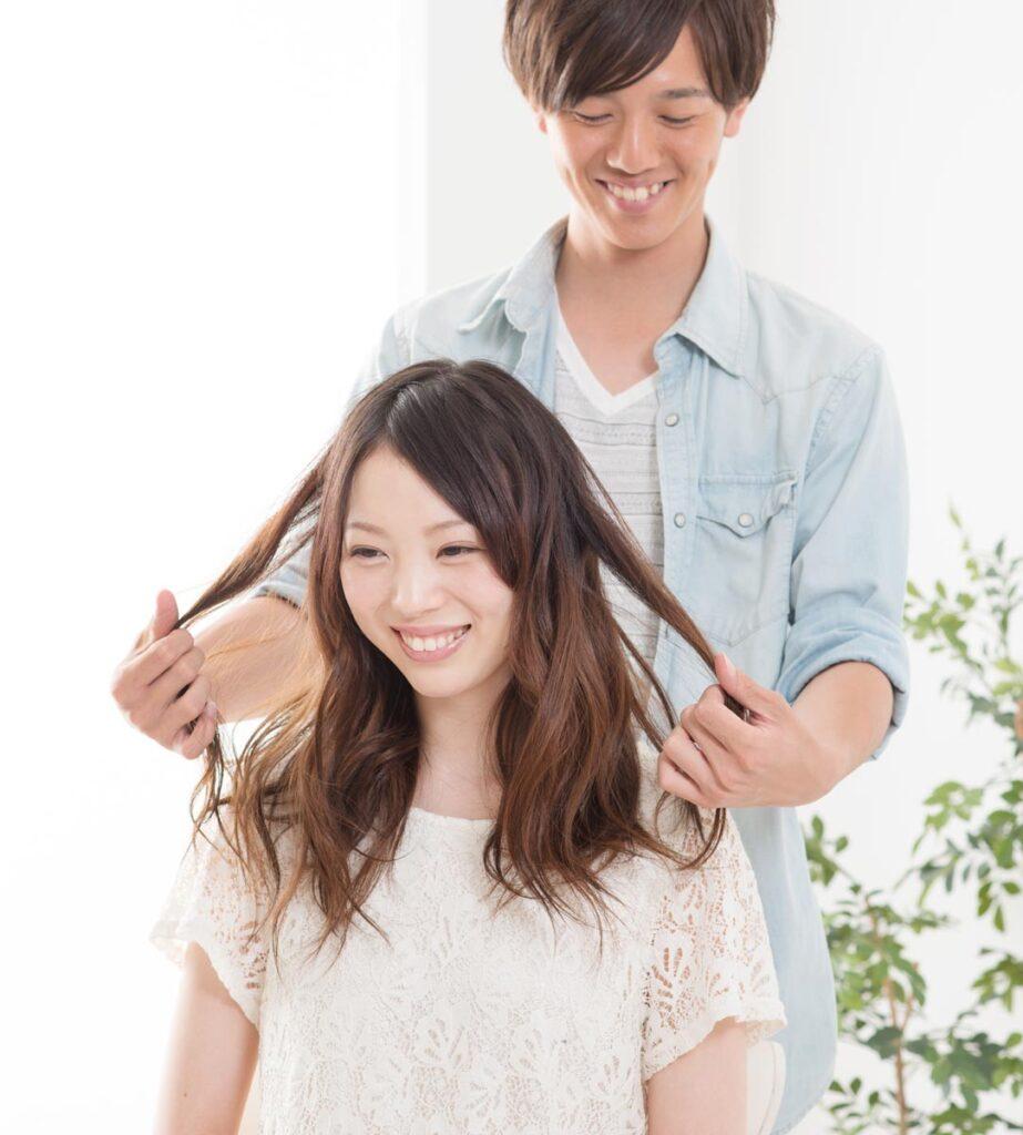 おうちケアと美容室ケアで髪質改善